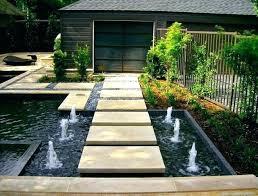 modern outdoor fountain contemporary water amazing tabletop garden ideas fountains india girona