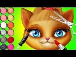 best games for kids cat hair salon birthday party fun care makeover and makeup fun games