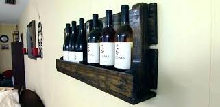 pallet wine glass rack. Making A Wine Rack Racks Building Completed Pallet Attached To Wall . Glass