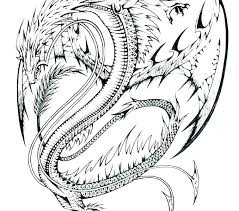 Dragon Coloring Pages Printable Dragon Coloring Page Free Printable