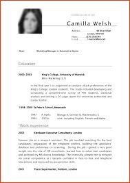 Good Resume Pdf Moa Format