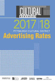2017 18 Advertising Ratebook By The Pittsburgh Cultural