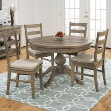 pine dining room sets slater mill pine reclaimed pine round to oval 5 piece dining set 1