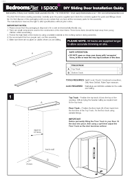 sliding wardrobe door diy installation guide to pdf or here to view the guide as jpg images page 1