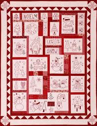 Free Christmas Redwork | The Stitch Connection - Quilts | Spring ... & Free Christmas Redwork | The Stitch Connection - Quilts · Quilt PatternsHand  Embroidery ... Adamdwight.com