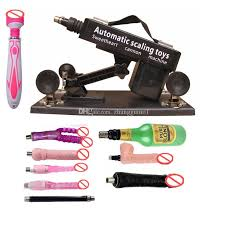 Homemade sex toy machines for woman