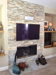mounting tv above gas fireplace fresh mount tv brick wall hide wires heat shield to protect
