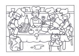 Kleurplaten Thema Eten
