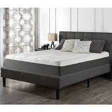 mattress queen size. Blackstone Set 12\u201d Memory Foam Queen Mattress And Platform Bed Size