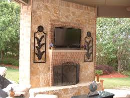 faux stone fireplace is a budget solution for your home electric