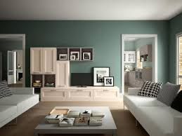 Most Popular Living Room Color Deep Green Wall Color For Contemporary Living Room Interior Design