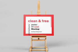 Poster Mockup Free 39 Horizontal Poster Mockups For Effective Marketing Colorlib
