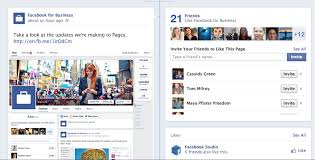 facebook page layout 2014. Plain Page Facebook For Business Now Inside Page Layout 2014 O