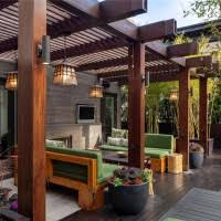 Image Decorating Furniture Exquisite Patio Home Furniture Deco Presenting Smooth Sofa Set Also Charming Pergola Roof For Diy Network Incredible Outdoor Patio Furniture Decoration Shows Cool Pergola