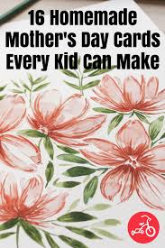 Easy Homemade Mothers Day Cards