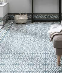 blue floor tiles. Berkeley™ Slate Blue Border Tile Floor Tiles