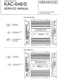wiring diagram kenwood amplifier kac 648 wiring automotive kenwood kac 648 1