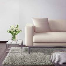 city sheen silver 4 ft x 6 ft area rug