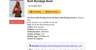 Better built bondage book torrent
