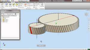 helical gear dynamic simulation through autodesk inventor 2010 you