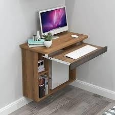 wooden wall mounted desk eppotum