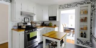 ... Marvelous How To Redo Kitchen Cabinets On A Budget Refurbishing Old Kitchen  Cabinets White ...
