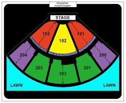 Shoreline Amphitheatre Seating Chart Box Seats Shoreline Amphitheatre Seat View Shoreline Amphitheatre Seat Map