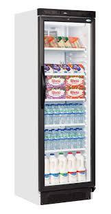 fridge merchandisers single door interlevin sc381b glass door