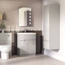 bathroom furniture ideas. Urban Cashmere Handleless Bathroom Furniture 6 Creative Ideas