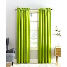 lime green window curtains sun zero grant solid room darkening x panel a curtain pocket green