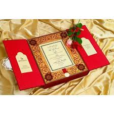 Weding Card Designs Designer Wedding Card Box
