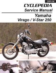 yamaha virago xv250 v star 250 motorcycle service manual cyclepedia you re viewing yamaha virago xv250 v star 250 motorcycle service manual cyclepedia printed 42 95 32 95