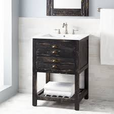 full size of bathroom vanities console vanity cabinet distressed pine integrated benoist reclaimed wood for rectangular