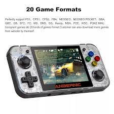Máy Chơi Game Cổ Điển Anbernic Rg350,Máy Chơi Game Màn Hình Ips 3.5inch,Máy  Chơi Game Cầm Tay Ps1,Hộp Đựng Máy Chơi Game Cps2 Fba - Buy Retro Trò Chơi  Giao Diện Điều