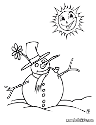 Snowman Coloring Page Christmas Coloring Pagescoloring