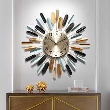 clock wall clock living room modern