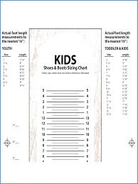 Printable Children S Shoe Size Chart Buying Kids Shoes In Chile Genuine Baby Shoe Size Chart