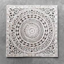 moroccan decent wood carving wall art