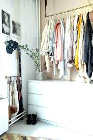 hanging clothes without a closet closet space ideas 8 storage solutions for limited closet space the hanging clothes without a closet