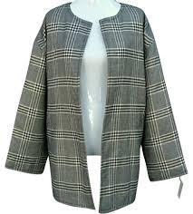 Isaac Mizrahi Black /Silver Metallic Comfortable Quilted Pea Coat ... & Isaac Mizrahi Black /Silver Metallic Comfortable Quilted Pea Coat Size 12  (L) - Tradesy Adamdwight.com