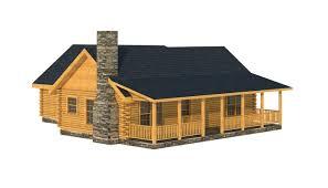 choctaw log home floorplan