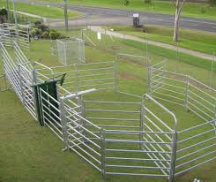 Cattle Yard Designs 10 Head Livestock Horse Panel Sheep Fence Cattle Yard Sliding Gate For Yard Buy Sliding Gates For Cattle Driveway Sliding Gates Steel Yard Fence Panel