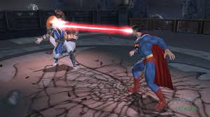 mortal kombat vs dc universe Superman