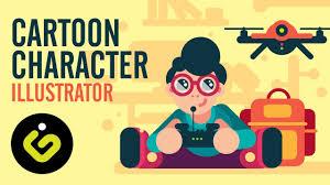 Cartoon Design Cartoon Character Character Design From Flat Shapes