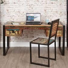 desk stylish ideas wood reclaimed wood office furniture urban reclaimed wood