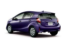 Toyota Aqua Aka The Prius C Gets A Facelift And A New Crossover ...
