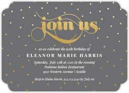 Birthday Party Evites Celebration Dots Birthday Party Invitation