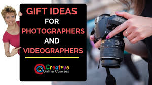 gifts for photography videographers