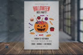 halloween party flyer template free new halloween party flyer template free kids templates creative