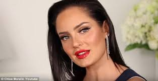 australian beauty your chloe morello pictured used aud 1 400 worth of s for her